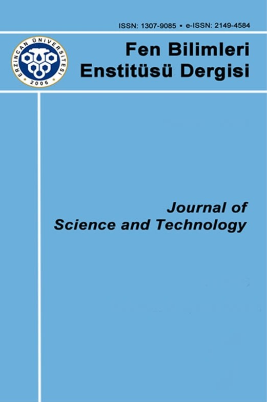 Erzincan University Journal of Science and Technology