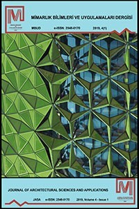 Journal of Architecture Sciences and Applications